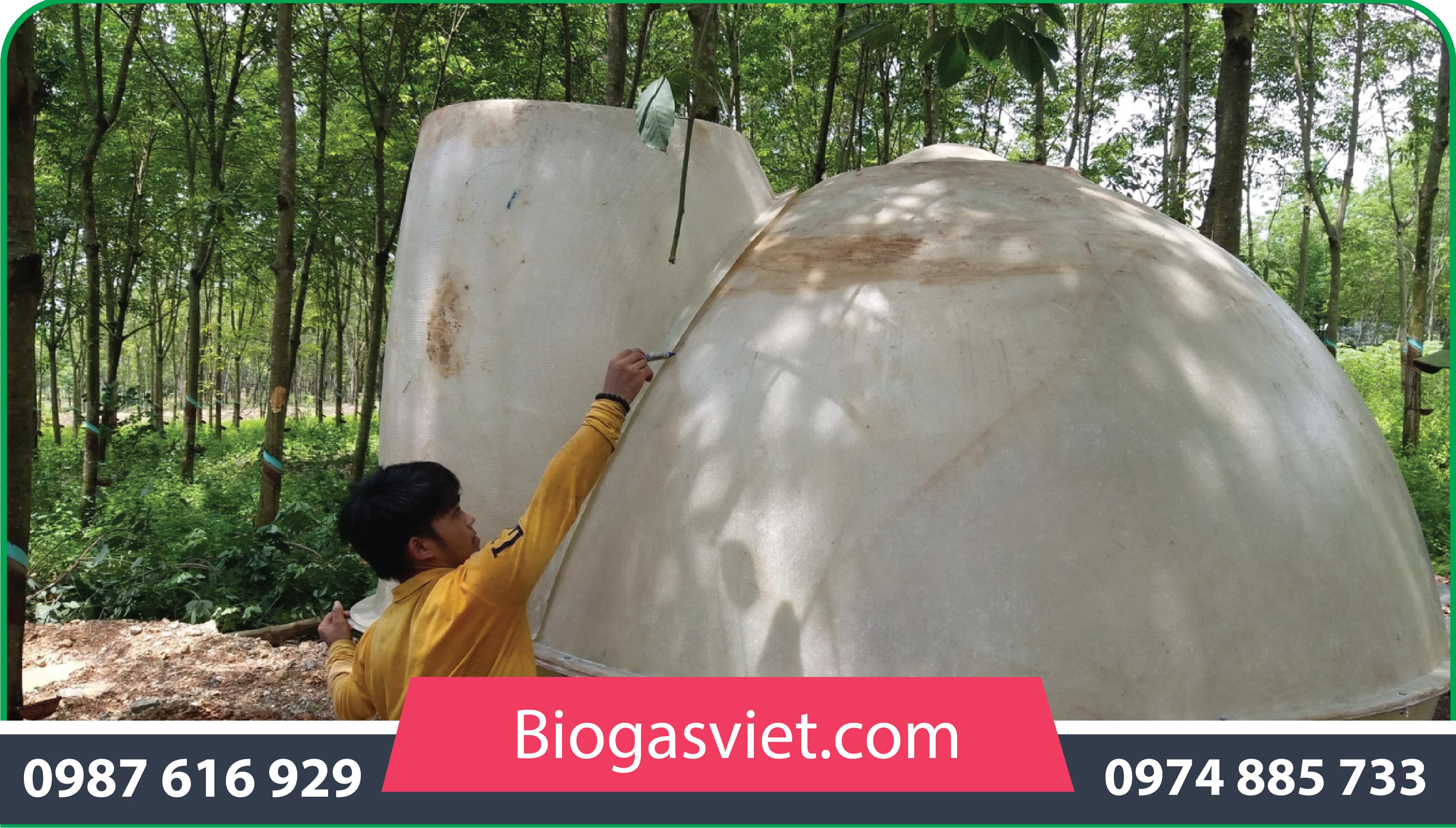 cách xâyhầm biogasviệt nam
