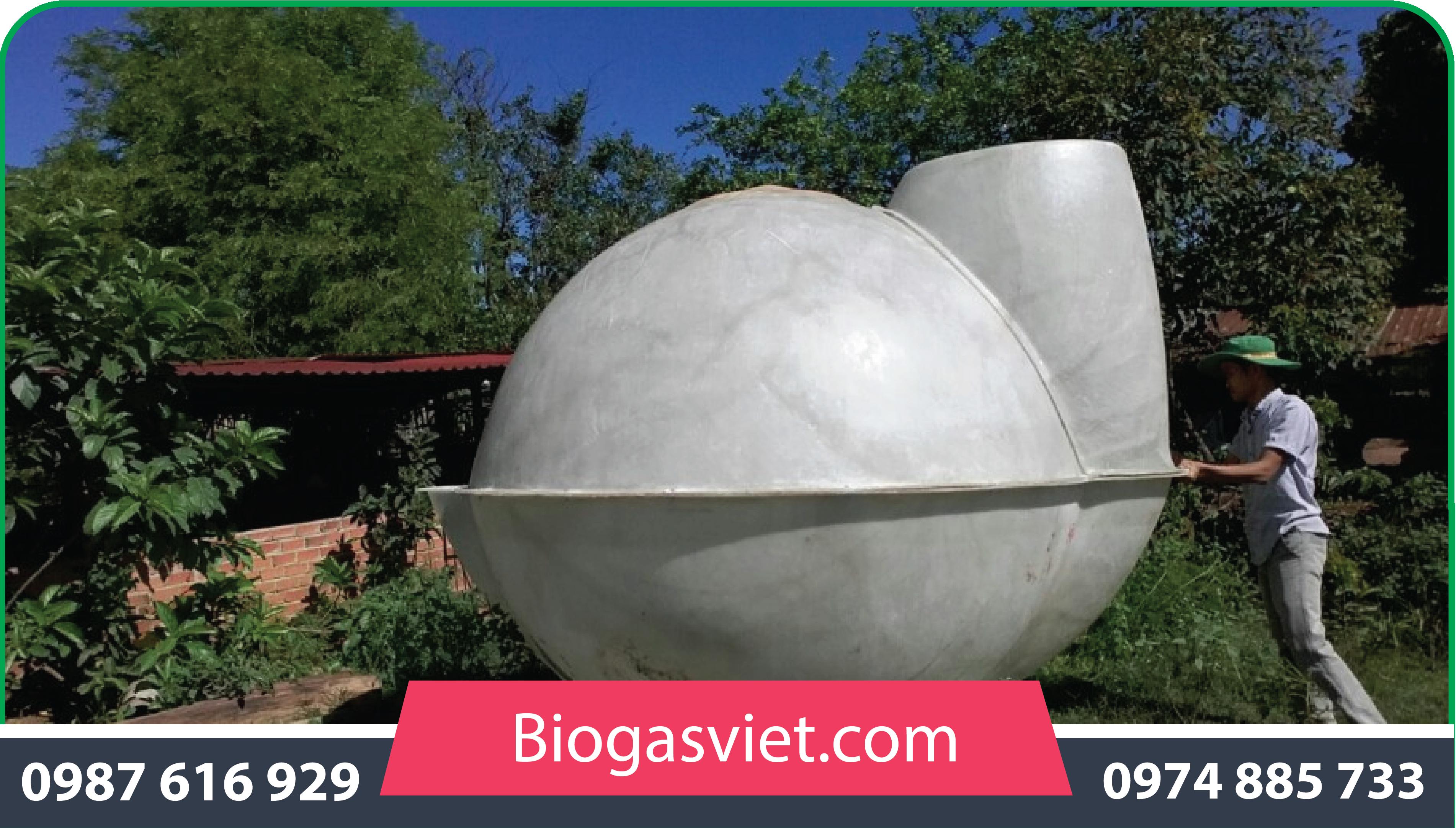 bể biogas cải tiến