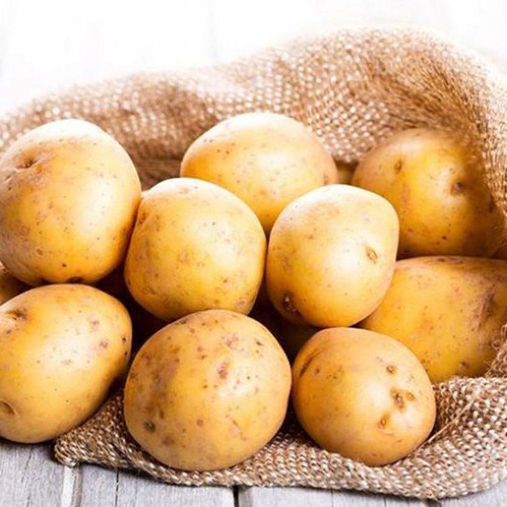 Trị chàm bằng khoai tây